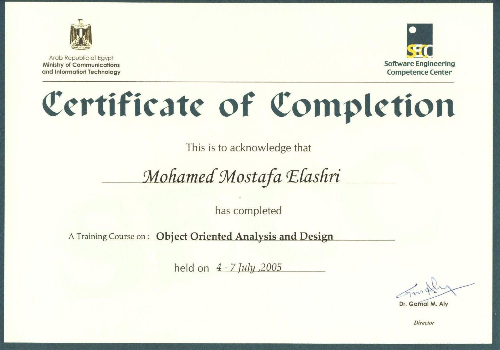Certificates | Project Manager Diary