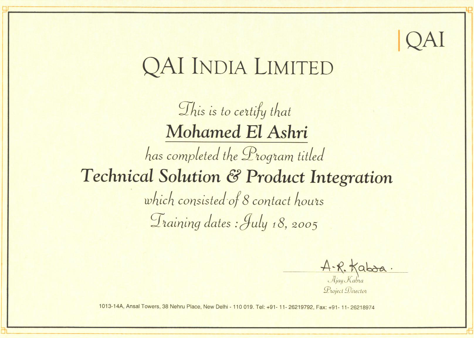 Certificates project manager diary technical solution product integration certificate managing software projects xflitez Gallery
